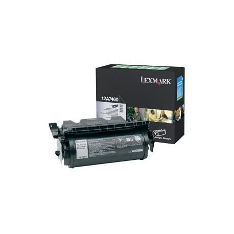 Lexmark 12A7460 juoda tonerio kasetė