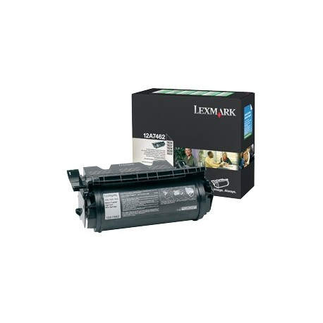 Lexmark 12A7462 higher capacity black cartridge (12A7462)