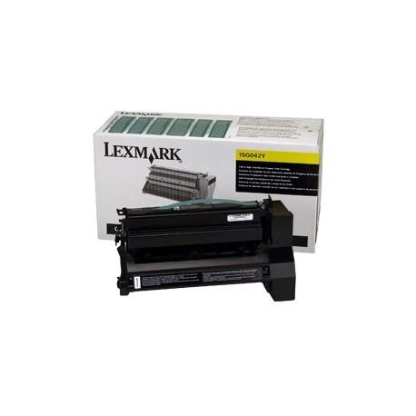 lexmark 15G042Y yellow toner cartridge (15G042Y)