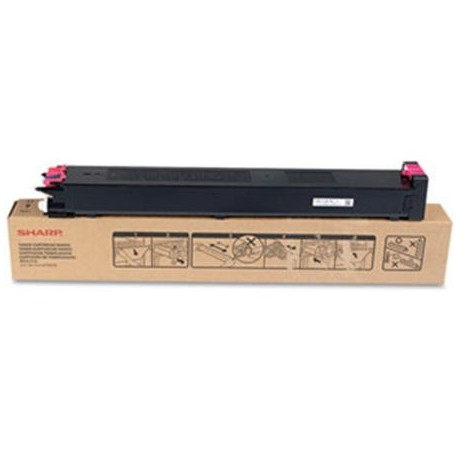 Sharp MX-23GTMA magenta toner cartridge (MX23GTMA)