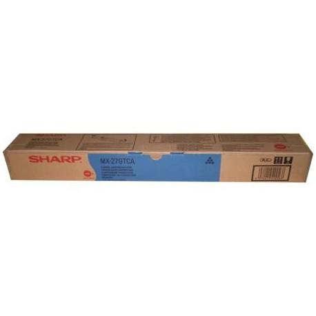 Sharp MX-27GTCA cyan toner cartridge (MX27GTCA)