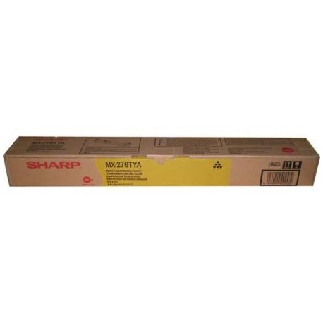 Sharp MX-27GTYA yellow toner cartridge (MX27GTYA)
