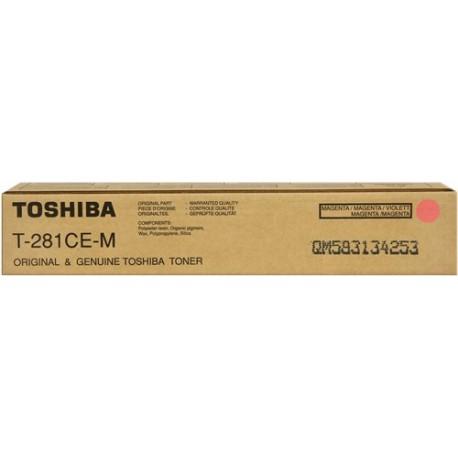 Toshiba T-281-CEM pupurinė tonerio kasetė (T281CEM)