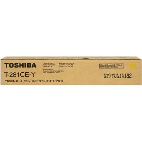 Toshiba T-281-CEY copier powder (T281CEY)