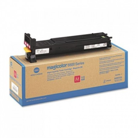 Minolta Magicolor 5500 higher capacity magenta toner cartridge