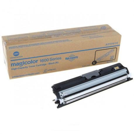 Minolta Magicolor 1600 black toner cartridge (MC1600/A0V301H)