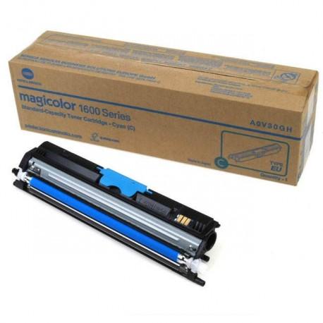 Minolta Magicolor 1600 cyan toner cartridge (MC1600/A0V30HH)
