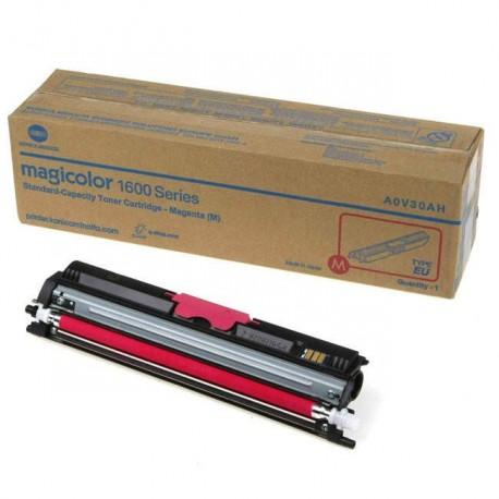 Minolta Magicolor 1600 magenta toner cartridge (MC1600/A0V30CH)