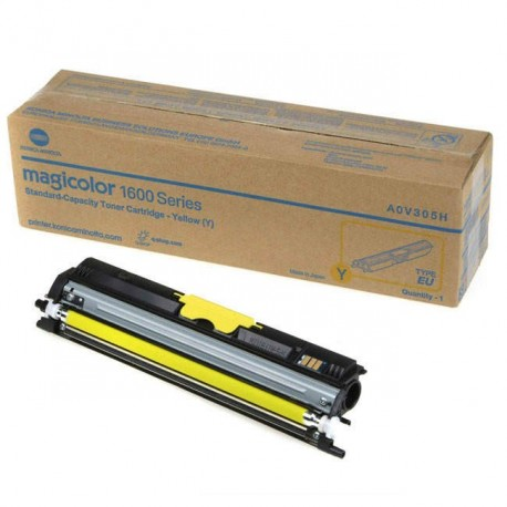 Minolta Magicolor 1600 geltona tonerio kasetė