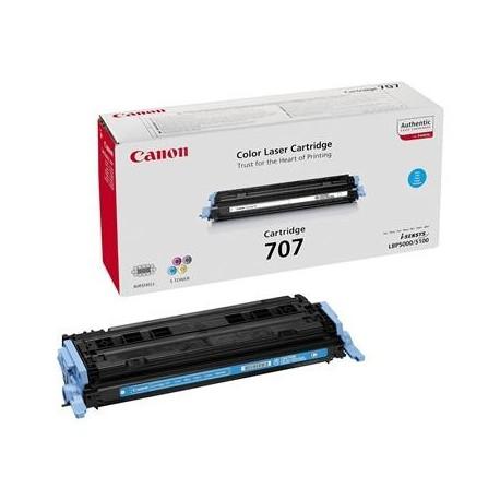 Canon Cartridge 707 cyan toner cartridge (Cartridge 707C)