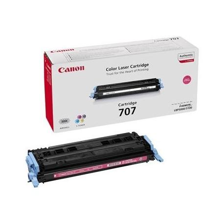 Canon Cartridge 707 magenta toner cartridge (Cartridge 707M)