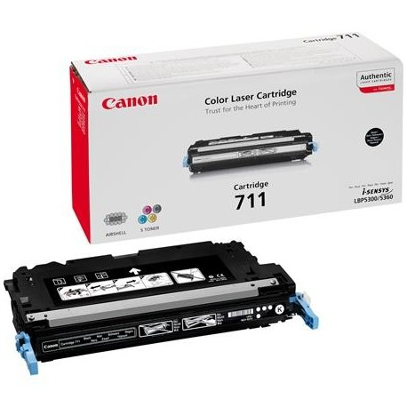 Canon Cartridge 711 black toner cartridge (Cartridge 711K
