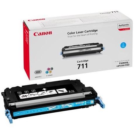 Canon Cartridge 711 cyan toner cartridge (Cartridge 711C