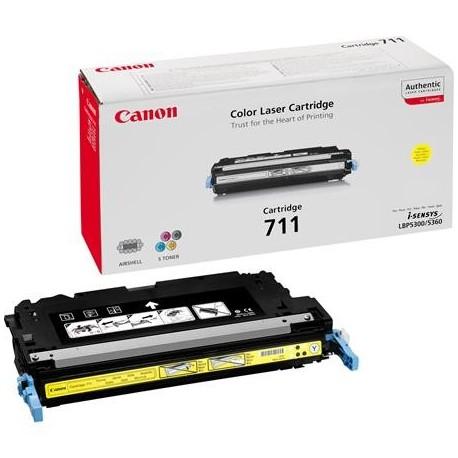 Canon Cartridge 711 geltona tonerio kasetė