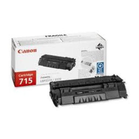 Canon Cartridge 715 juoda tonerio kasetė