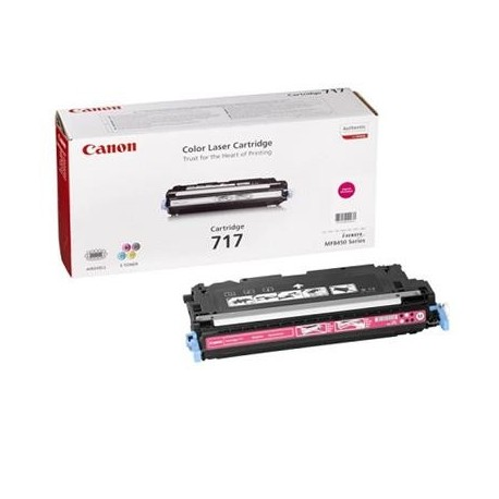 Canon Cartridge 717 magenta toner cartridge (Cartrige 717M)
