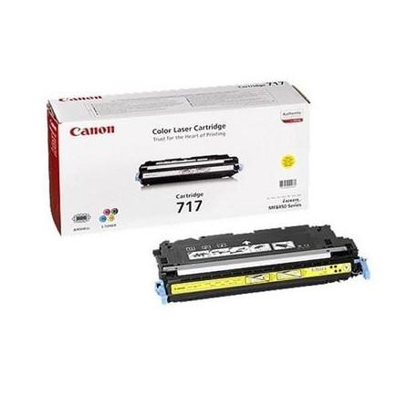 Canon Cartridge 717 yellow toner cartridge (Cartrige 717Y)