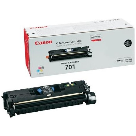 Canon Cartridge 701 black toner cartridge (Cartrige 701K)