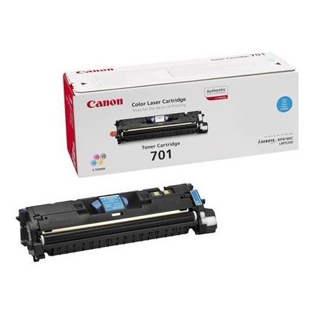 Canon Cartridge 701 cyan toner cartridge (Cartrige 701C)