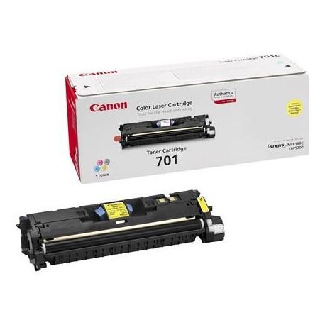 Canon Cartridge 701 yellow toner cartridge (Cartrige 701Y)