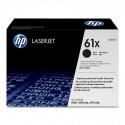 HP 61X higher capacity black toner cartridge
