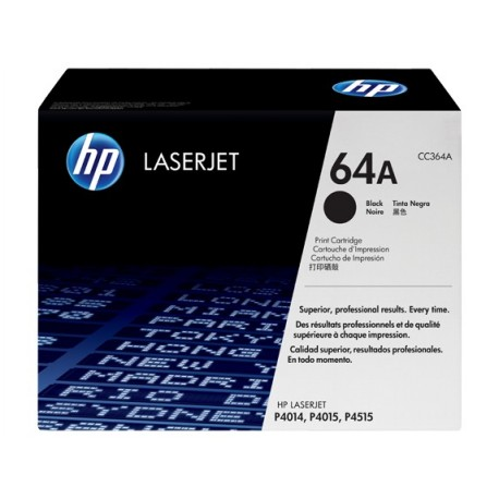 HP 64A juoda tonerio kasete (CC364A)