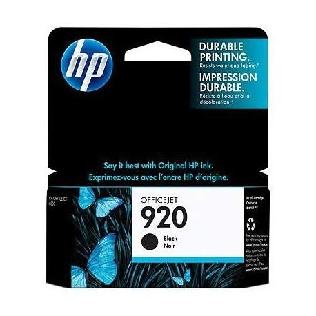 HP 920 juoda rašalo kasetė (CD971AE/Nr.920)