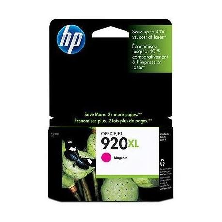 HP 920XL higher capacity magenta ink cartridge