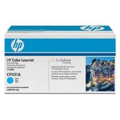 HP 646A cyan toner cartridge (CF031A)