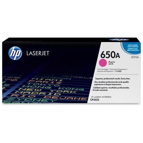 HP 650A magenta toner cartridge (CE273A)