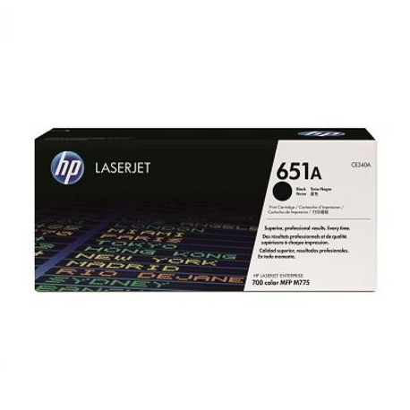 HP 651A black toner cartridge (CE340A)