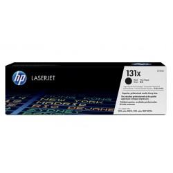 HP 131X didesnės talpos juoda tonerio kasetė (CF210X)
