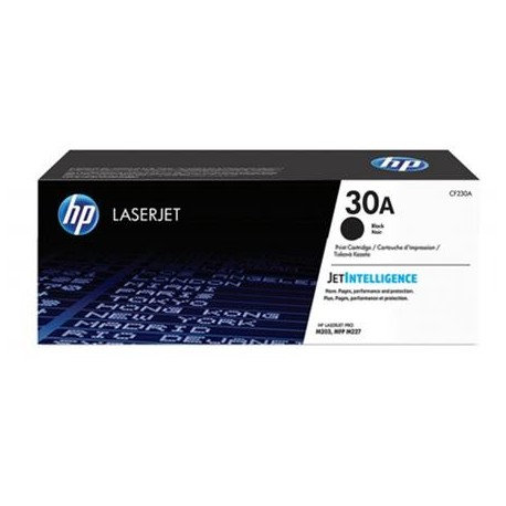 HP 30A juoda tonerio kasetė (CF230A)