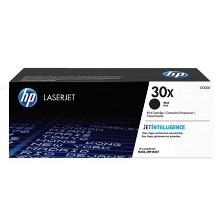 HP 30X didesnės talpos juoda tonerio kasetė (CF230X)