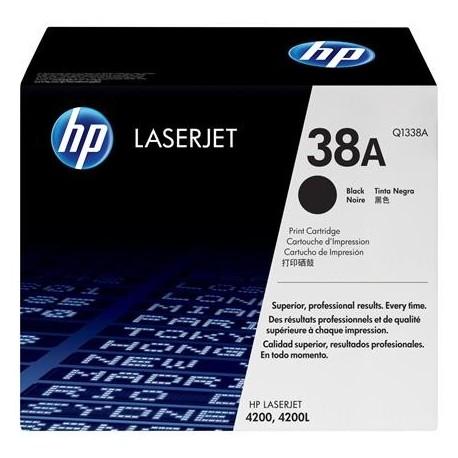 HP 38A black toner cartridge (Q1338A)