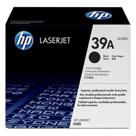 HP 39A juoda tonerio kasetė (Q1339A)