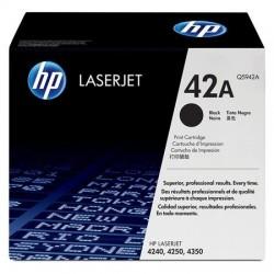 HP 42A juoda tonerio kasetė (Q5942A)