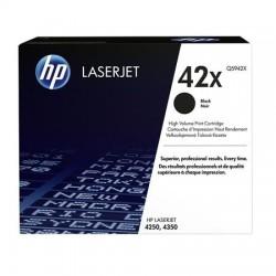 HP 42X didesnės talpos juoda tonerio kasetė (Q5942X)