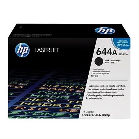 HP 644A black toner cartridge (Q6460A)