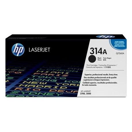 HP 314A black toner cartridge (Q7560A)
