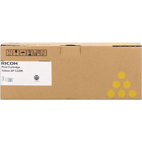 Ricoh 406055 geltona tonerio kasetė