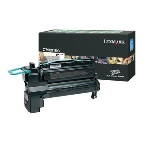 Lexmark C792X1KG juoda tonerio kasetė