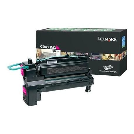 Lexmark C792X1MG magenta toner cartridge (C792X1MG)