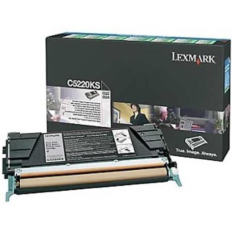 Lexmark C5220KS black toner cartridge (C5220KS)