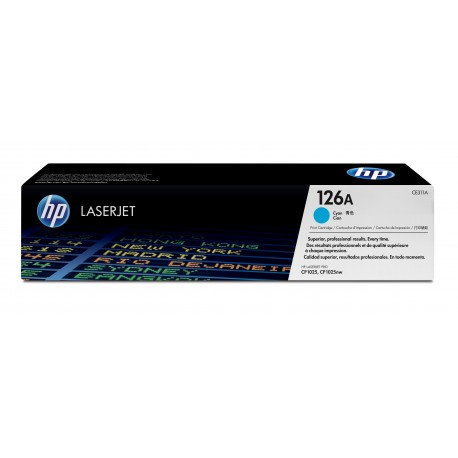 HP 126A cyan toner cartridge (CE311A)