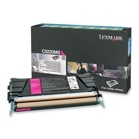 Lexmark C5220MS purpurinė tonerio kasetė