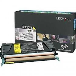 Lexmark C5220YS geltona tonerio kasetė