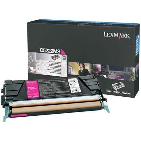 Lexmark C5222MS magenta toner cartridge (C5222MS)
