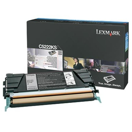 Lexmark C5222KS black toner cartridge (C5222KS)
